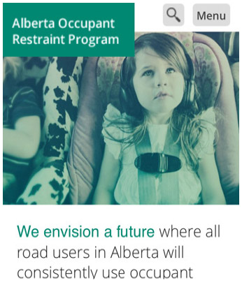 Alberta Occupant Restraint Program